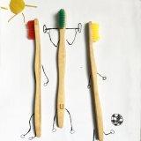 グループの使用のためのカスタマイズされたロゴおよびカラー剛毛のタケ歯ブラシ