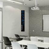 Reloj de día Date Time de la visualización vertical del LED Digital