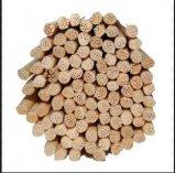 Varas de madeira da lingüeta do Rattan