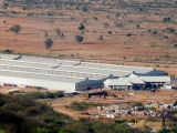Fábrica de prefabricados de acero estructural para la construcción de planta de caucho