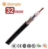 Câble de fil coaxial de transmission Rg58 Rg59 Rg11 Rg213 avec la qualité