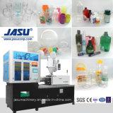 Guardar trabajo Jasu cubierta de foco de la botella Vertical de la máquina de moldeo por soplado