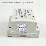 45W AC aan gelijkstroom 100-240VAC aan Levering van de Macht van de Schakelaar van het 24VDC2A DIN Spoor hdr-45-24 ERP ISO9001 van Ce RoHS