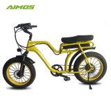 """26 """" *4.0 AMS Tde-07のアルミ合金フレームのペダルの補助脂肪質のタイヤの電気バイク"""