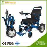 24V 12ah Lithium-Batterie-leichter faltbarer Rollstuhl für Behinderte