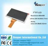 RGB 50broche 800*480 TFT LCD 7 pouces pour affichage Tabletor et produits de consommation