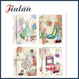 Lamellierter Großverkauf-preiswertes Firmenzeichen gedruckter Entwurfs-Frauen-Papiermattbeutel