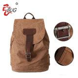 Los tres colores Casual bolsas mochila de lona