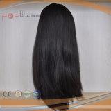 Parrucca superiore di seta cascer ebrea dei capelli umani (PPG-l-0249)