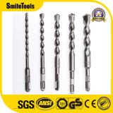 Dígito binario de taladro máximo de martillo de la asta del SDS de la pista de la ranura de la alta calidad para el concreto