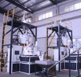 Automatisches Kurbelgehäuse-Belüftung mischendes Stapelweise verarbeiten und Extruder-führendes Maschinen-System