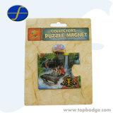Magneti su ordinazione del frigorifero del ricordo delle città della Norvegia di puzzle dell'epossidico turistico di stampa