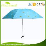 Руководство раскрывает 3 зонтика створки выдвиженческих с логосом