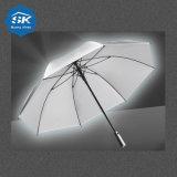 Pioggia automatica superiore all'ingrosso 27inch che anche ombrello riflettente diritto