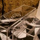 Doos van de Vertoning van de Doos van de Wijn van de Douane van de Levering van de fabriek de Acryl voor Bevordering