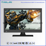 21.5 Full HD 1080P TV LED DVB-T DVB-C / T2 MPEG4 H. 264 Support de montage mural