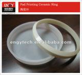 Anillo de cerámica del Zirconia de la taza de la tinta de impresión de la pista