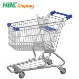 180L de plástico Carrito de Compras carrito de supermercado grande