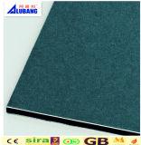 Panneau composé en plastique en aluminium de PVDF avec le prix concurrentiel/approvisionnement d'usine
