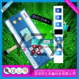 Abdeckung geprägter Tastschlüssel-Membranschalter mit FPC Materialien