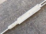 Bullnose del trazador de líneas del lápiz del mármol del oro de Calacatta que moldea 3/4X12 pulido