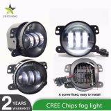 Maak de LEIDENE van de Motorfiets CREE van 4.5 Duim 30W Lichten van de Mist voor de Jeep Wrangler van het Stofdoek van Renault waterdicht