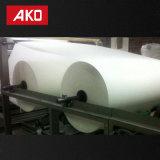 Escritura de la etiqueta auta-adhesivo de la logística de las escrituras de la etiqueta de envío del rodillo enorme del papel termal del bajo costo
