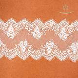 Matériau africaine de mesdames robes de mariage rose dentelle Guipure