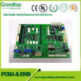 PCB de aluminio con placa de circuito impreso avellanar los orificios