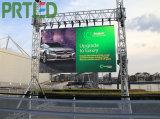 768 * 768 mm de la publicité extérieure Panneau affichage LED pour la location ou une installation permanente