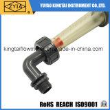 Type de tube Lzs-Plastic Débitmètre d'eau