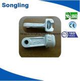 電流を通された金属ヘッド(鋳鉄)ように高圧送電で使用される電力の付属品