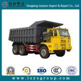 ディーゼルSinotruk HOWO 70tons 420HP 6X4 30m3鉱山のダンプトラック