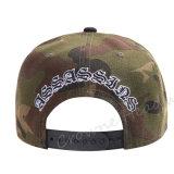 Tampão feito sob encomenda camuflar do chapéu do verão da borda lisa do Snapback de Hip Hop