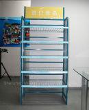 Puede ser el estante de varios pisos modificado para requisitos particulares del soporte de visualización del alimento del supermercado