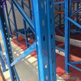 De Aandrijving van de Vorkheftruck van het Rek van de Pallet van de Opslag van het pakhuis in het Rekken van de Koude Opslag van het Staal van het Gebruik Q345 Systeem