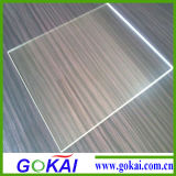 Feuille claire et blanche transparente de plexiglass