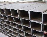 Fr10025 Noir/tube rectangulaire en acier à finition galvanisé