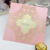 Причудливый изготовленный на заказ печатание поздравительной открытки карточки приглашения венчания