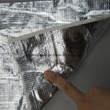 高温放射熱反射アルミニウム上塗を施してあるガラス繊維ファブリック