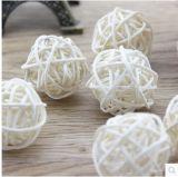 Venta caliente de la bola de la rota popular que teje para la decoración de la boda