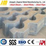 Laser das peças/peças de automóvel da máquina que corta a placa de aço com o CNC que dá forma ao processamento