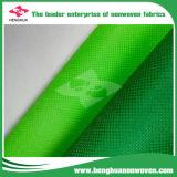 Telas no tejidas de TNT Cambrelle usadas en bolso publicitario no tejido reutilizable