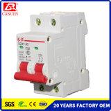 Цена по прейскуранту завода-изготовителя емкости 6ka MCB фабрики Китая высокая ломая с Ce RoHS ISO9001 CCC