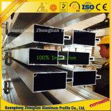 Perfil de aluminio de abastecimiento de la pared de cortina de la protuberancia de la fábrica del aluminio de la ISO 9001