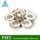 N40 Magneet van NdFeB van de Ring van D15xd8X5 de Magnetische met het Materiaal van het Neodymium