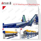 De plastic Wasmachine en Lijn van het Recycling met Capaciteit 1500kg/H
