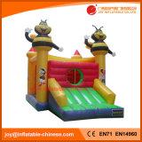 Bouncer Bouncy do palhaço do brinquedo para fora inflável do Moonwalk para os miúdos (T1-023B)