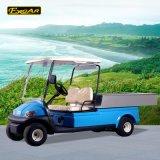 2つのシートのアルミニウム貨物ベッドが付いている電気ゴルフカート