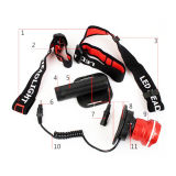 Fisheye Deisgn 크리 사람 Xm-L T6 가장 밝은 LED Headlamp (POPPAS- T85)
